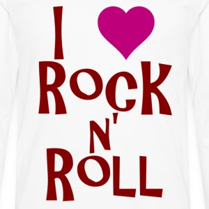 rock n roll T-Shirts - Men's Premium Longsleeve Shirt
