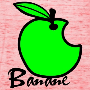 Mela Banana / Apple Artwork T-shirt - Top da donna della marca Bella