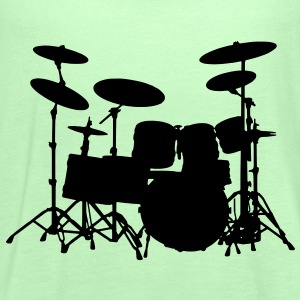 Drums T-Shirts - Women's Tank Top by Bella