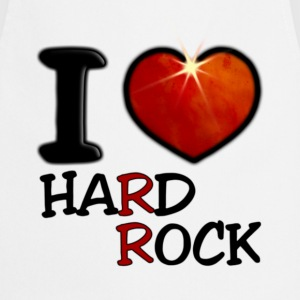 I Love Hard Rock - Tablier de cuisine