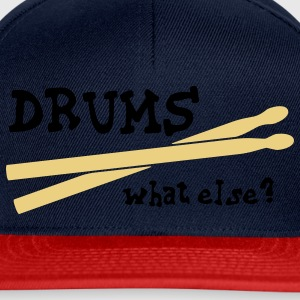 Drums, what else? T-shirts - Casquette snapback