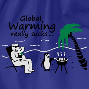 Global Warming really sucks! - Turnbeutel