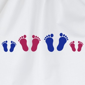 footprint_family_2c T-shirts - Sac de sport léger