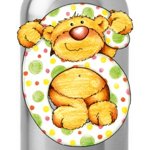 Sweet little bear and the 6 T-shirts - Drinkfles