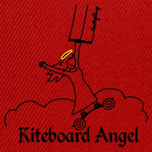 kite board angel T-Shirts - Snapback Cap