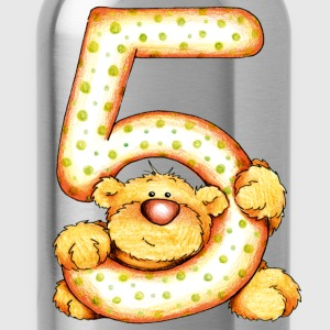 Sweet little bear and the 5 T-shirts - Drinkfles