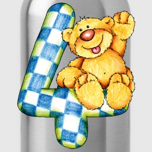 Sweet little bear and the 4 T-Shirts - Water Bottle
