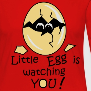 Little Egg is watching you! T-shirt - Maglietta Premium a manica lunga da donna