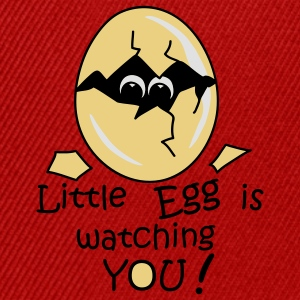 Little Egg is watching you! T-shirt - Snapback Cap