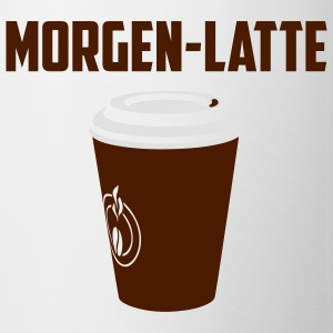 Morgen-Latte-Shirt - Tasse