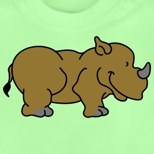 Sweet little rhino Barn-T-shirts - Baby-T-shirt