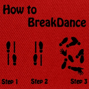 How to Breakdance T-Shirts - Snapback Cap