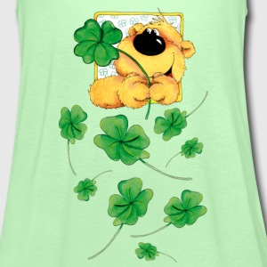 The Bear and the clover T-shirts - Dame tanktop fra Bella