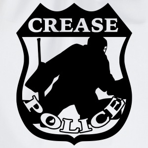 'Crease Police' Men's T-Shirt - Drawstring Bag