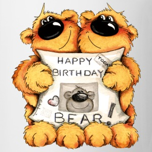 Happy Birthday, Bear T-skjorter - Kopp