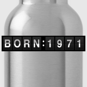 born1971 T-shirt - Borraccia