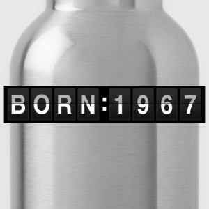 born1967 T-shirt - Borraccia