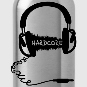 Cuffie onda Motif Audio: musica Hardcore  T-shirt - Borraccia