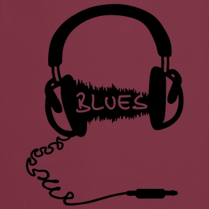 Kuulokkeet Audio Wave aihe: Blues Music, audiophile  T-paidat - Esiliina