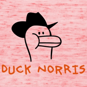 Duck Norris T-Shirts - Frauen Tank Top von Bella