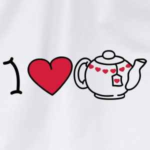 I love tea T-shirts - Sportstaske