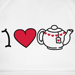 I love tea T-shirt - Cappello con visiera