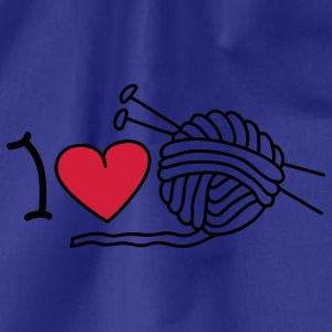 I love needlework T-shirts - Gymnastikpåse