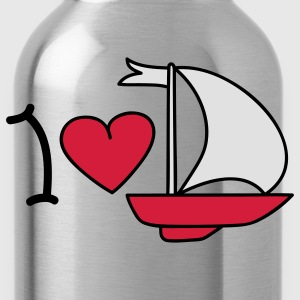 I love sailing T-shirt - Borraccia