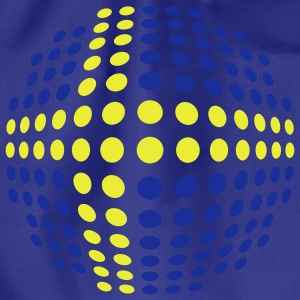 swedish_flag_2c T-shirts - Gymnastikpåse