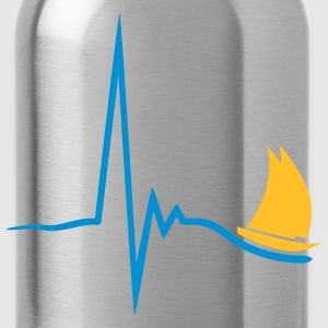 sailing_pulse_2c T-Shirts - Trinkflasche