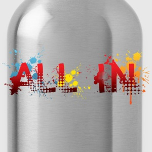 All in, graffiti T-Shirts - Drinkfles
