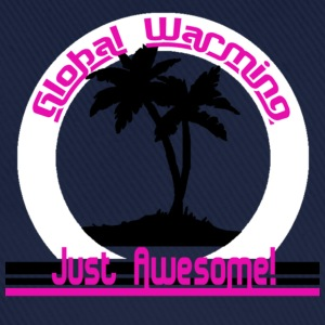 Global Warming just awesome! Global Warming T-shirts - Basebollkeps