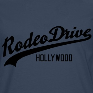 Rodeo Drive | Hollywood T-Shirts - Herre premium T-shirt med lange ærmer