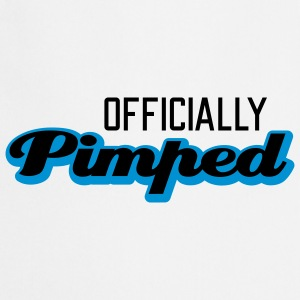 Officially Pimped | Pimp | Tuned | Tuning T-Shirts - Keukenschort
