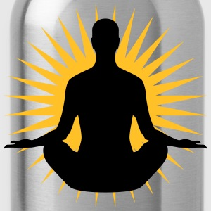 Yoga Star | Stern | Ruhe | Pause | Chillen T-Shirts - Water Bottle