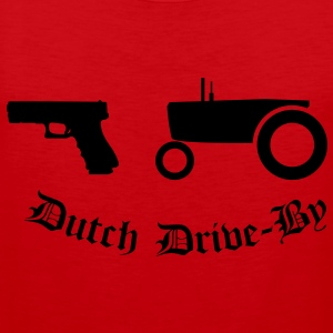 Dutch Drive-by T-skjorter - Premium singlet for menn