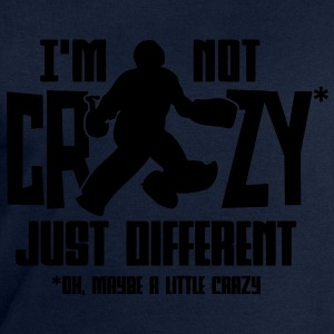 I'm Not Crazy (field hockey) T-Shirts - Men's Sweatshirt by Stanley & Stella