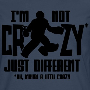 I'm Not Crazy (field hockey) T-Shirts - Men's Premium Longsleeve Shirt