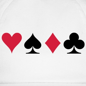 poker signs T-Shirts - Baseballkappe