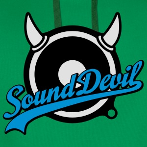 Sound Devil | Volume | Bass T-Shirts - Männer Premium Hoodie