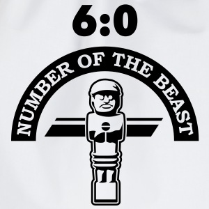 6:0 Number of the beast | KickerShirt T-Shirts - Turnbeutel