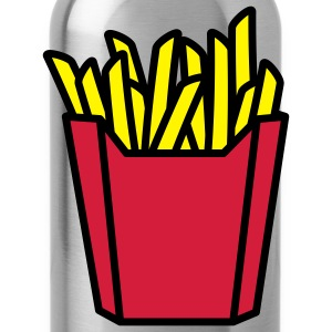 fastfood_french_fries_3c T-shirts - Vattenflaska