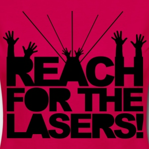 Reach for the Lasers T-Shirts - Women's Premium Longsleeve Shirt