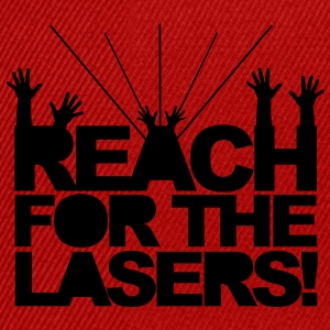 Reach for the Lasers T-Shirts - Snapback Cap