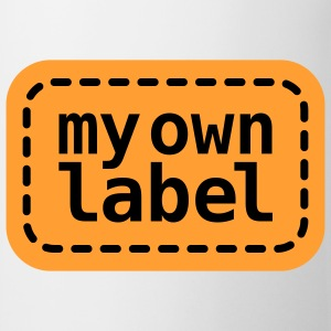 My own Lable | Marke | Etikett T-Shirts - Kop/krus