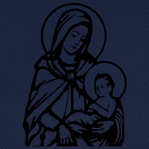Mary and Jesus T-Shirts - Baseball Cap