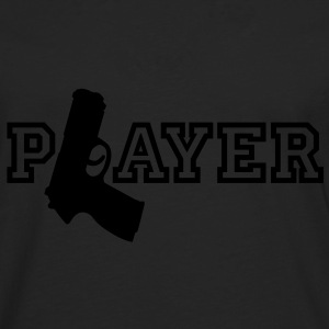 Player | Gun | Waffe T-Shirts - Premium langermet T-skjorte for menn