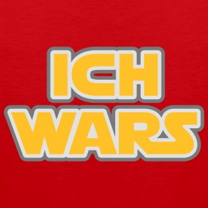 Ich wars | Ich war es T-Shirts - Premium singlet for menn
