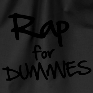 Rap for Dummies T-shirts - Sportstaske