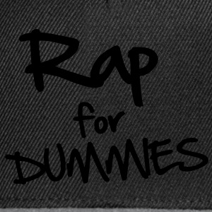 Rap for Dummies T-Shirts - Snapback Cap